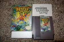 Adventures of Bayou Billy (Nintendo Entertainment System NES) Complete GOOD C