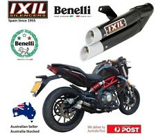 Benelli BN 302 BN302 / Lams 2015 2016 2017 IXIL L3X Black Slip on Exhaust