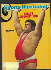 Vintage Sports Illustrated Magazine World's Strongest Man April 14, 1975