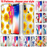 For iPhone XS Max XR 7 8 Plus Shockproof Case Cute Girly TPU Gel Pattern Cover