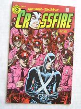 Eclipse Comics CROSSFIRE #17 - Mark Evanier & Dan Spiegle