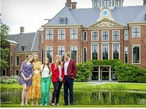 Königin Maxima von Holland Postkarte