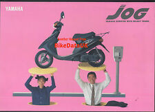 Genuine Yamaha YG50 Jog (1991->) Japanese Market Sales Brochure YG 50 Moped AD41