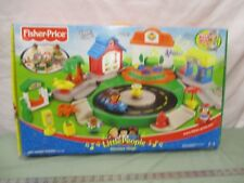 Fisher Price Little People NEW Discovery Village School Grocery park Cars drive