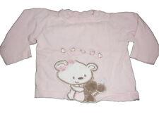 Niedliches Langarm Shirt Gr. 68 rosa mit süßer Applikation !!