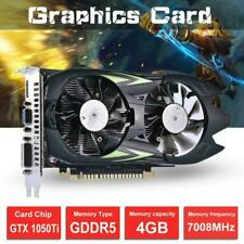 Desktop Graphics Card GTX1050Ti 4G D5 128bit HDMI DVI VGA DVI Video Card