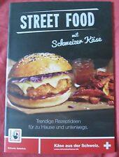 Street Food mit Schweizer Käse Rezepte+Tipps Käse aus der Schweiz Werbung Kochen