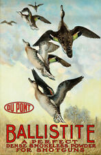 Ballistic Hunting and Ammunition Vintage Advertising Giclee Canvas Print 13x20