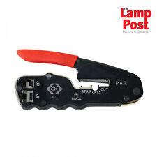CK Tools T3673 Compact Crimper Crimping Tool for CAT3 & CAT5E Modular Plugs