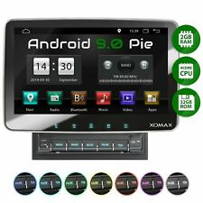 Android 9 XOMAX Autoradio mit Usb Bluetooth Mp3 10 Zoll Touch Mpeg4 2DIN