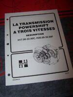 GR Manuel Hyster Transmission Powershift 3 Vitesses H17.00-32.00C H20.00-32.00F