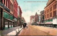 Stockton CA Upper Main Street Postcard unused 1900s/10s