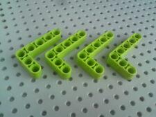 Lego Technic Beam L-Shaped 3x5 [32526] Lime Green x8
