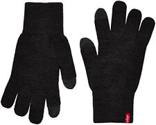 Levi's Men's Touch Screen Gloves Black Ben Large 222283-11-59 L