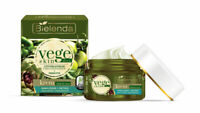 Bielenda Vege Skin Diet Moisturising Detox Day Night Cream Dehydrated Skin 50ml