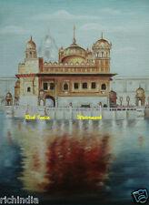 Harmandir Sahib  sikh Sikhism Oil Canvas Painting ReligiousGolden Temple Punjab