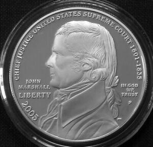 USA 1$ Silver Proof 2005 P Chief Justice John Marshall KM#375