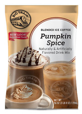 New listing Big Train Blended Ice Coffee, Pumpkin Spice, 3.5 Pound, Powdered Instant Coffee