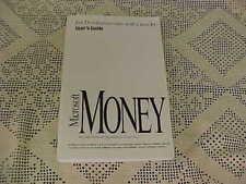 Microsoft Money for Windows Version 3.0 Users Guide Microsoft Corp 1994 Book