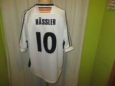 """Alemania """"dfb"""" nº 775 adidas hogar WM camiseta 1998 + nº 10 Hässler talla XL"""