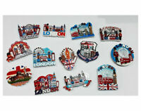 6X 3D CERAMIC FRIDGE MAGNET LONDON ICONS SOUVENIR UK SELLER