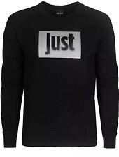 Just Cavalli Mens Black Sweatshirt - Size Large - Brand New With Tags
