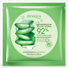 BIOAQUA Vera Aloe Natural Skin Care Face Mask Moisturizing 1/5/10pcs UK SELLER 10pcs