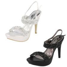Clubwear Stiletto Peep Toes Synthetic Heels for Women