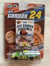 Jeff Gordon #24 2007 Nicorette Chevy 1:24 Die Cast Car and Official Fan Card