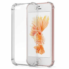 SDTEK iPhone SE / 5 / 5s Case Extra Protection Gel Bumper Soft Silicone Clear