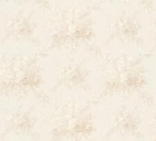 Vlies Tapete Blumen Bouquet weiß creme beige Floral glanz 34508-5 Chateau 5