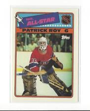 1988-89 Topps Sticker Inserts #12 Patrick Roy Canadiens