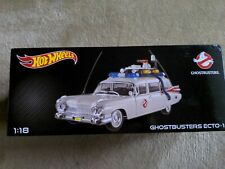 Hot Wheels - Ghostbusters Ecto-1 - 1:18 Diecast - RARE Collectors Edition