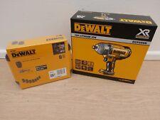 DEWALT XR 18V DCF899 DETENT PIN  IMPACT WRENCH BARE UNIT + DT7507 9PC SOCKET SET