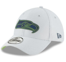New Era Seattle Seahawks Gray 2018 NFL Training Camp Official 39THIRTY L / XL