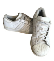 Adidas Men's Originals Superstar Shelltoe Trainers UK 2 EU 34 White B23655