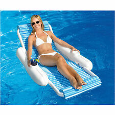 Swimline 10030 EvaFloat Sunchaser Swimming Pool Floating Luxury Lounger Float