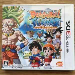 Dragon Ball Fusions Nintendo 3DS BandaiNamco Used Japan Action Game Boxed 2016
