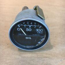 OEM MG MGB 1978-1980 Vintage Oil Pressure Gauge Smiths PL2324/00 Original Part