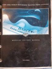 Harley Davidson '89-'06 Painted Parts Catalog 99489-06