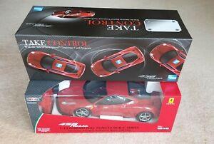 Model Car. 1:10 Ferrari 458 Italia RC Radio RemoteControl Battery Vehicle