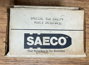 Saeco Special Two Cavity Bullet Mold Mould #430 / # 432 - 44 Magnum