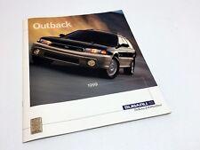 1999 Subaru Outback Sport Limited Brochure