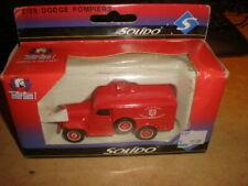 Solido 1/50 #2128 Dodge Pompiers Ville de Sélestat        MIB (18/028)