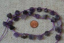 Amethyst-Strang(Blume12x9mm) Q-5423/G