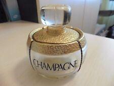 flacon parfum vide Yves Saint Laurent Champagne