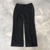 346 Brooks Brothers 100% Wool Womens Trouser Dress Tuxedo Pants Size 12