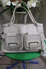 Coccinelle ivory multi pocket satchel Travel  bag  (p800)
