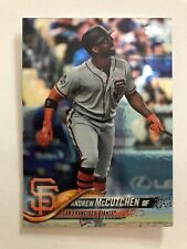 2018 Topps Update ANDREW MCCUTCHEN #US83 RAINBOW FOIL Parallel NM-MT