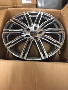21'' porsche turbo 3 STYLE Alloy Wheels Fits cayenne, VW Touareg Audi Q7